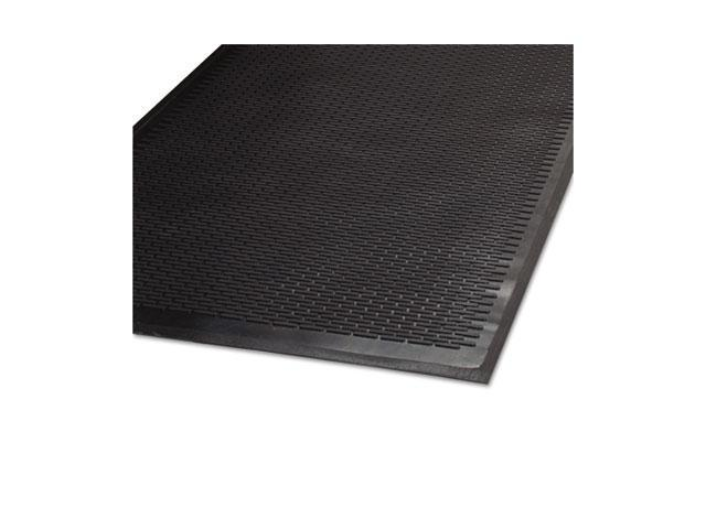 Guardian                                 CleanStep Outdoor Rubber Scraper Mat, Polypropylene, 36 x 60, Black