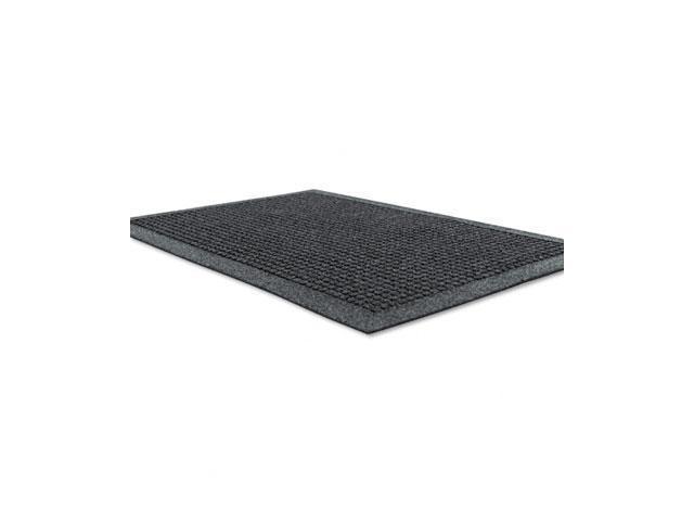 Guardian                                 EcoGuard Indoor Wiper Mats, Rubber, 24 x 36, Charcoal