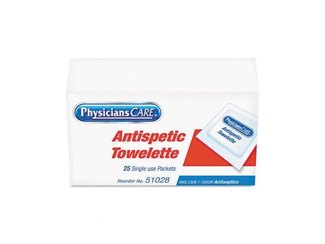 Acme United                              Antiseptic Towels, 25 Towels/Box