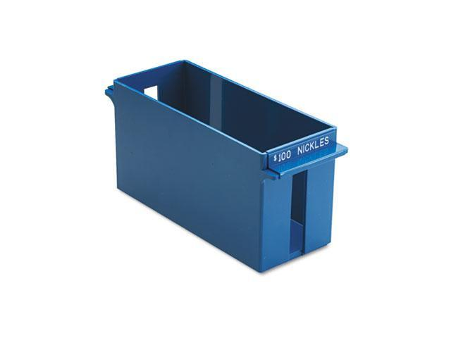 MMF Industries 212070508 Porta-Count System Extra-Capacity Rolled Coin Plastic Storage Tray, Blue