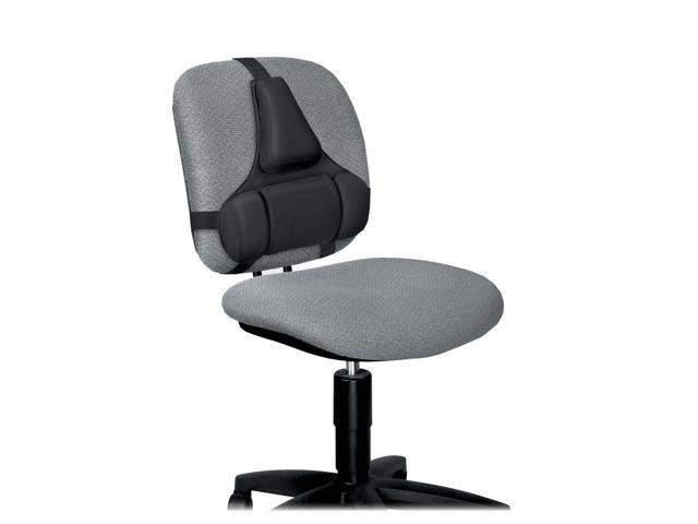 Fellowes 8037601 Professional Series Back Support, Memory Foam Cushion, Black