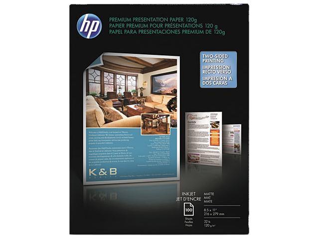HP D0Z55A Premium Inkjet Matte Presentation Paper