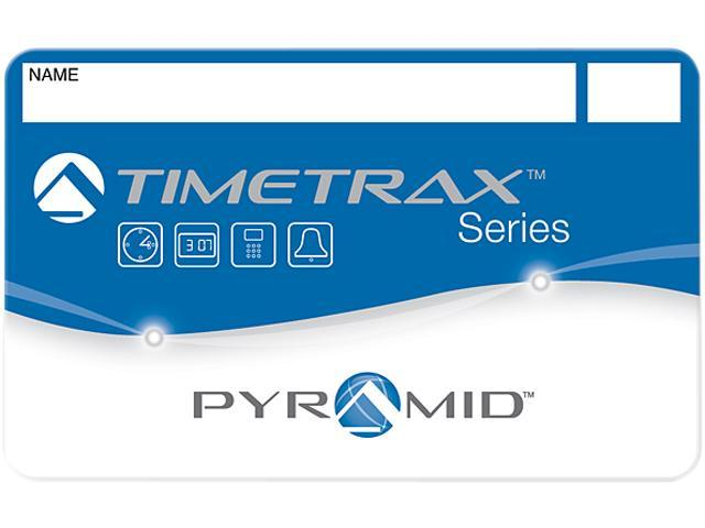 Pyramid 41304 Swipe Card Badges for TimeTrax Time & Attendance Systems 51-100