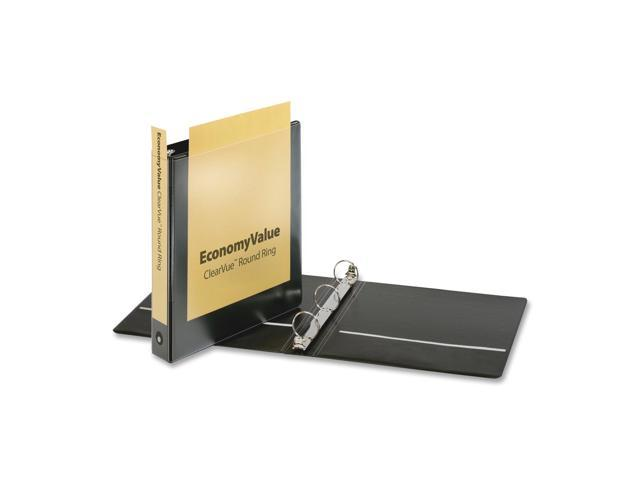 Cardinal EconomyValue ClearVue Binder with Round Ring