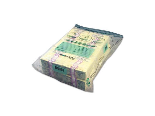 MMF Industries 234400120 Bio-Natural Twin Deposit Bags, 9-1/2 x 15, Clear, 100/Box