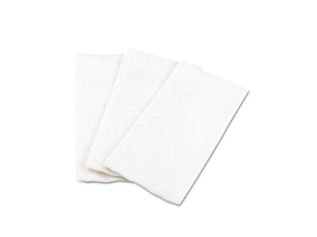Georgia Pacific 31436 Preference 1/8 Fold Dinner Napkins, 15 x 16, White, 100/Pack