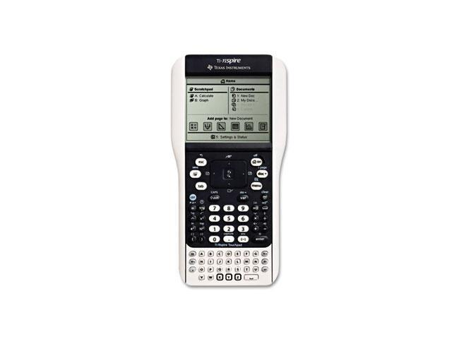 Texas Instruments TINSPIRETP TI-Nspire Math and Science Handheld Graphing Calculator with Touchpad