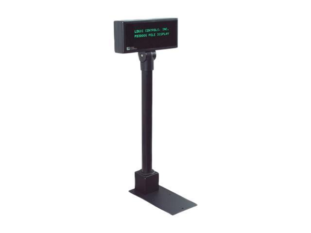 Logic Controls PD3000UP-BK Pole Display