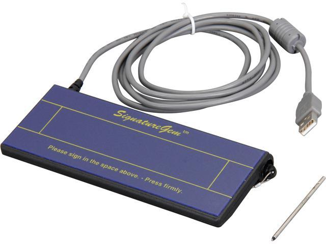 Topaz SignatureGem SG 1x5 HID-USB Signature Capture Pad