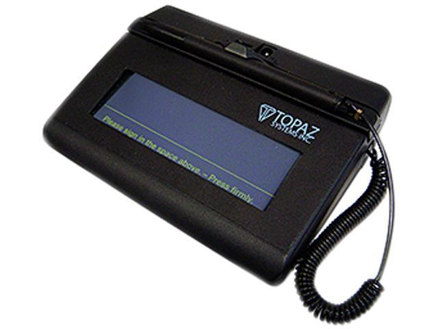 Topaz SigLite Series SL 1x5 Serial Bluetooth Signature Capture Pad