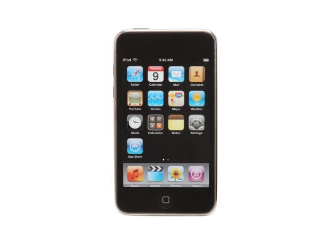 """Apple iPod touch (2nd Gen) 3.5"""" Black 8GB MP3 / MP4 Player MB528LL/A"""