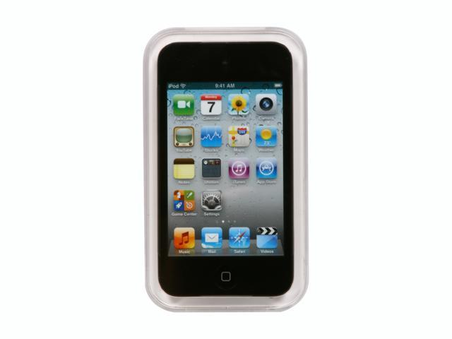 "Apple iPod touch 8 GB (4th Generation) 3.5"" Black 8GB MP3 / MP4 Player MC540LL/A"