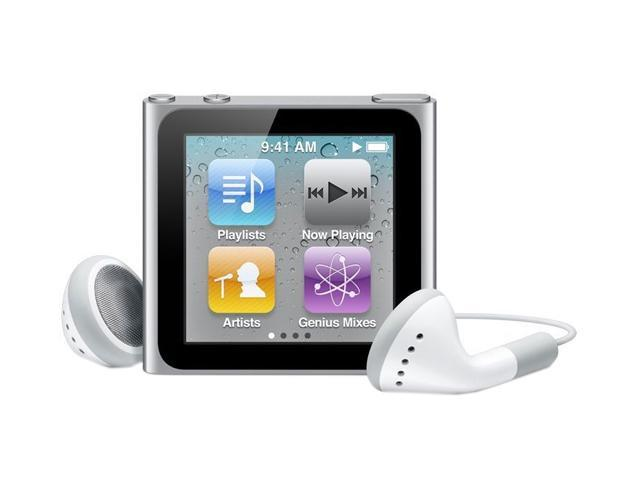 Apple MC525LL/A - 8GB iPod nano (6th Gen) SILVER
