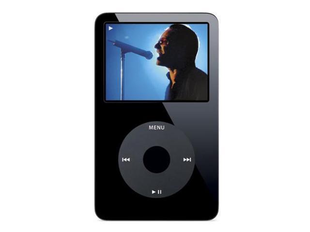 """Apple iPod video 2.5"""" Black 60GB MP3 / MP4 Player MA147LL/A"""