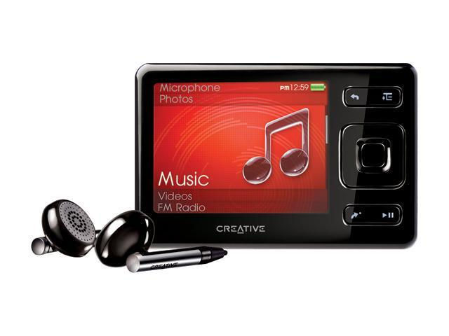 "Creative ZEN 2.5"" Black 2GB MP3 / MP4 Player"
