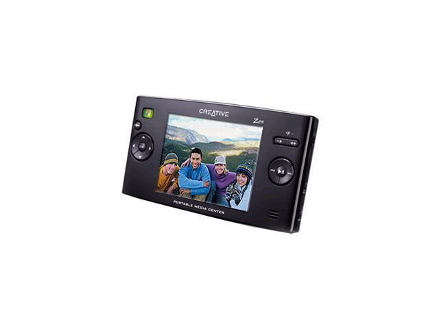 """Creative 3.8"""" Black 20GB MP3 / MP4 Player 70PF095000000"""