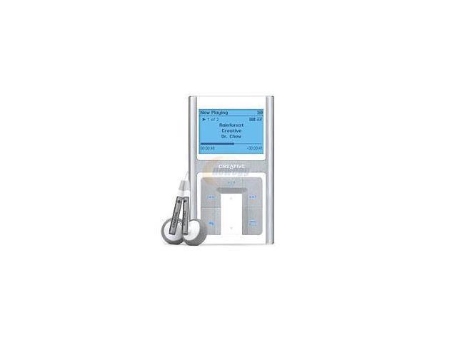 Creative ZEN white/aluminum 20GB MP3 Player