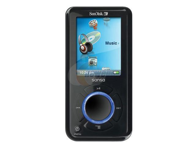 """SanDisk Sansa e200 1.8"""" Black 4GB MP3 Player Sansa e260"""
