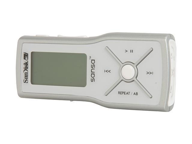 SanDisk Sansa m200 Silver 1GB MP3 Player Sansa m240