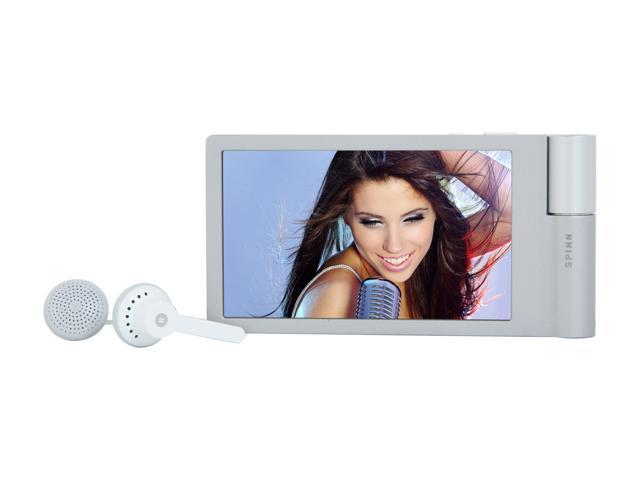 "iRiver 3.3"" Silver 8GB MP3 / MP4 Player SPINN"