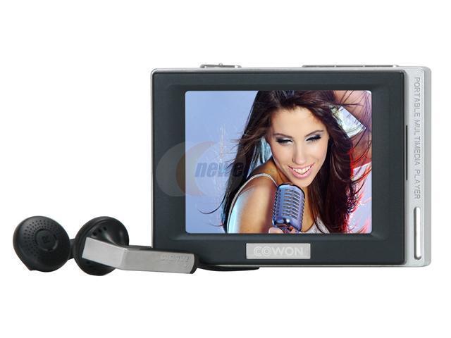 "COWON D2 2.5"" Black 4GB MP3 / MP4 Player"