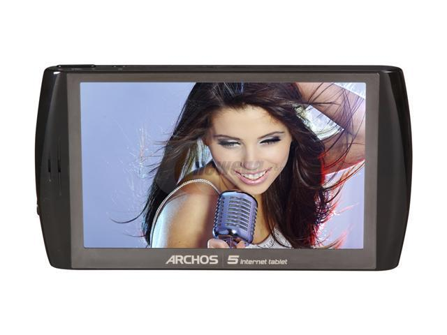 "ARCHOS 5 Internet Tablet 4.8"" 16GB MP3 / MP4 Player"