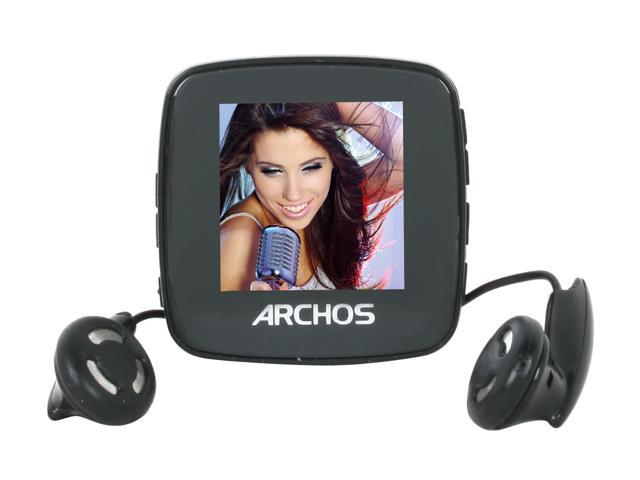 "ARCHOS 14 Vison 1.44"" Black 4GB MP3 / MP4 Player"