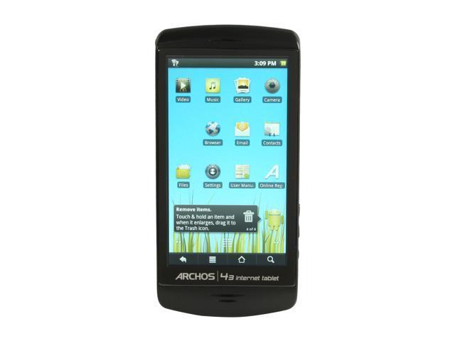 "ARCHOS 4.3"" 16GB MP3 / MP4 Player 43 Internet Tablet - 16GB"