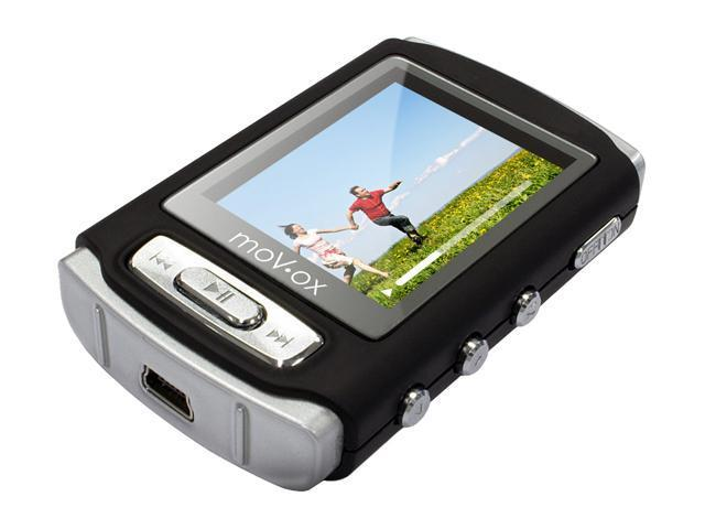 "CENTON moVox 1.8"" Black 4GB MP3 / MP4 Player 4GBMP4-001"