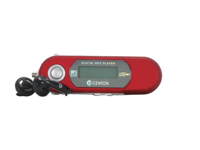 CENTON moVex Red 2GB MP3 Player 2GBMP3-003