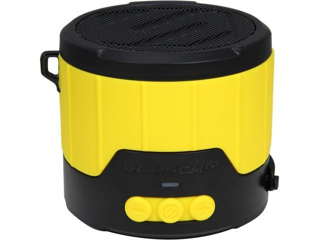Scosche boomBOTTLE MINI Rugged Weatherproof Wireless Speaker- Yellow- BTBTLMY