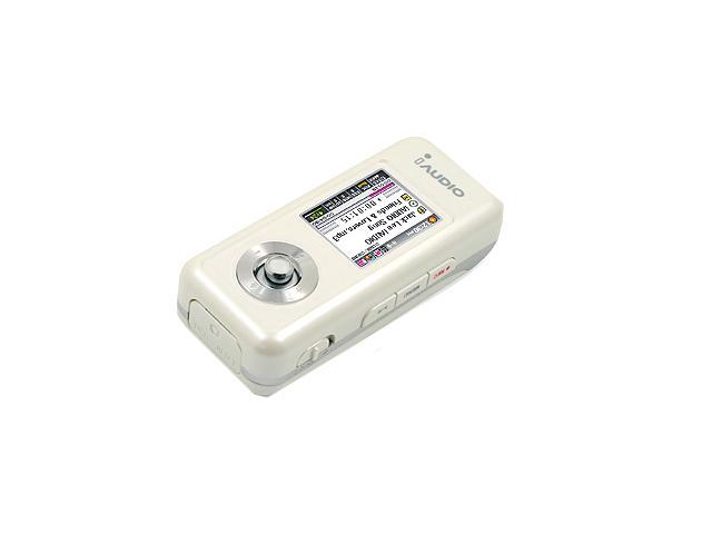 iAUDIO U3 White 1GB MP3 Player U3-1024WH