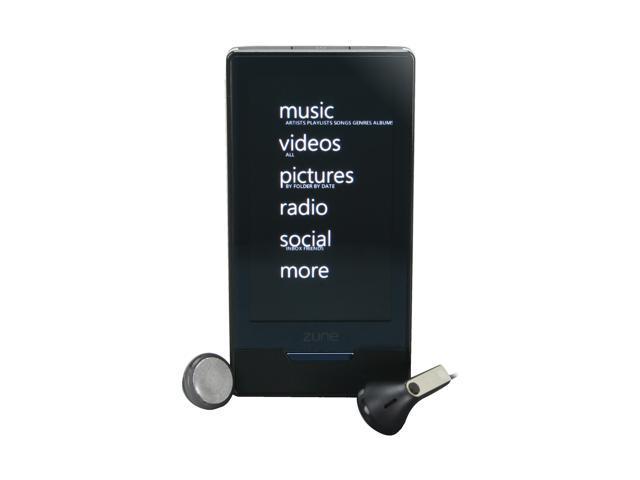 Microsoft - 16GB Zune HD (BLACK)