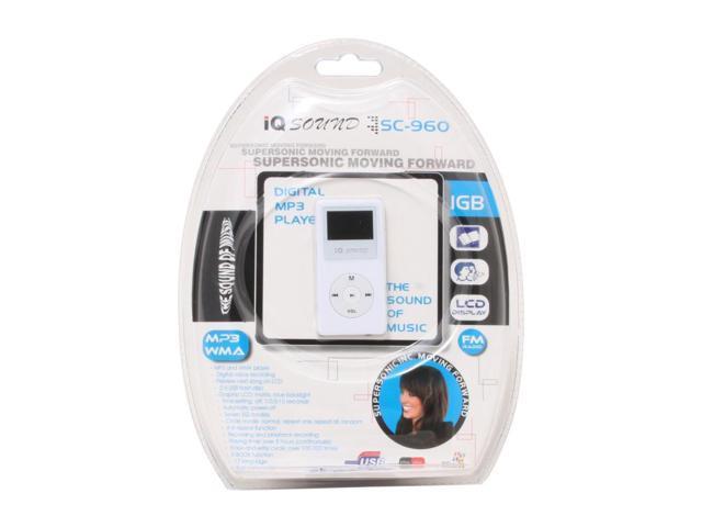 SUPERSONIC Black MP3 Player SC-960FM