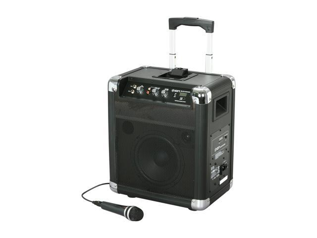 ION BLOCK ROCKER AM/FM Portable Speaker System with Radio for iPod