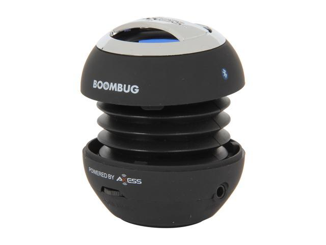 Boombug Bluetooth Portable Mini Premium Speaker - SPLBT12-1, Black