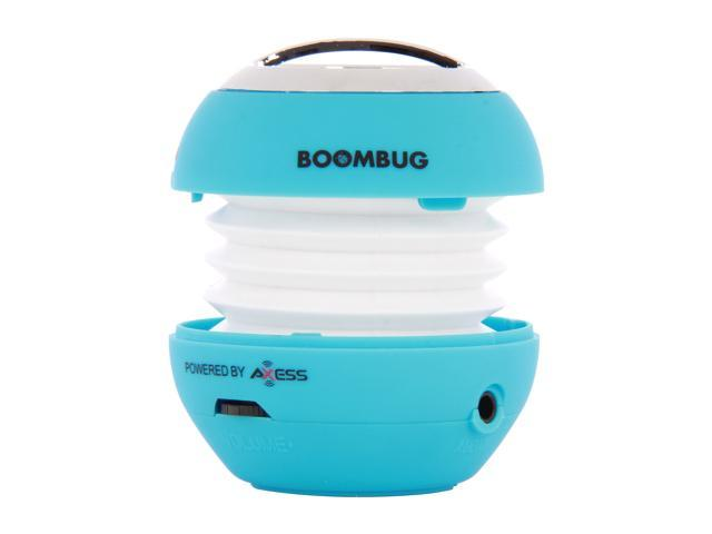 Boombug Bluetooth Portable Mini Premium Speaker - SPLBT12-7, Light Blue