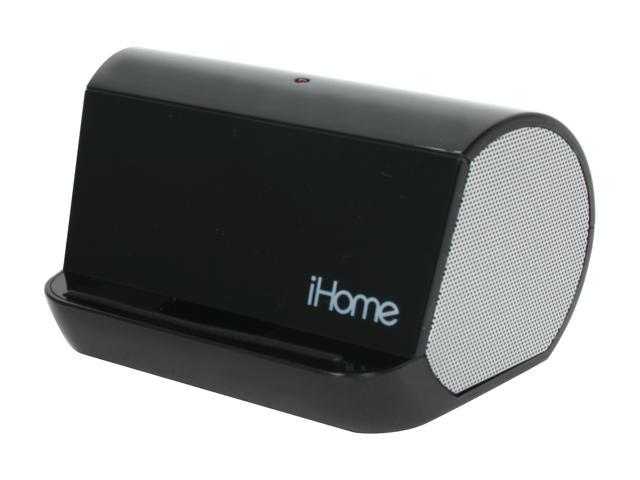 iHome iHM9 Portable Stereo Speaker System for iPod /iPhone and MP3 Players (Black)