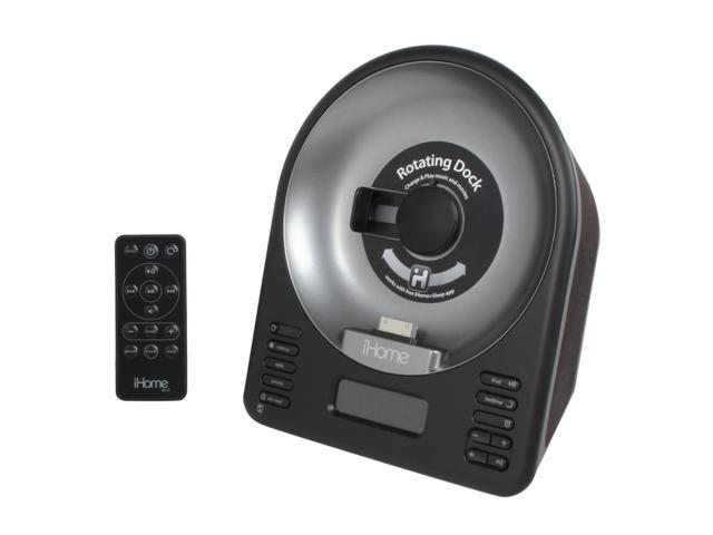 iHome iA63BZC FM Radio & Speaker for iPhone and iPod Touch