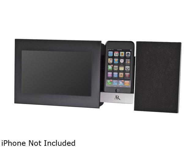 Acoustic Research ARS3I Dock Station With 7 Inch Display And Front Speaker for iPhone and iPod