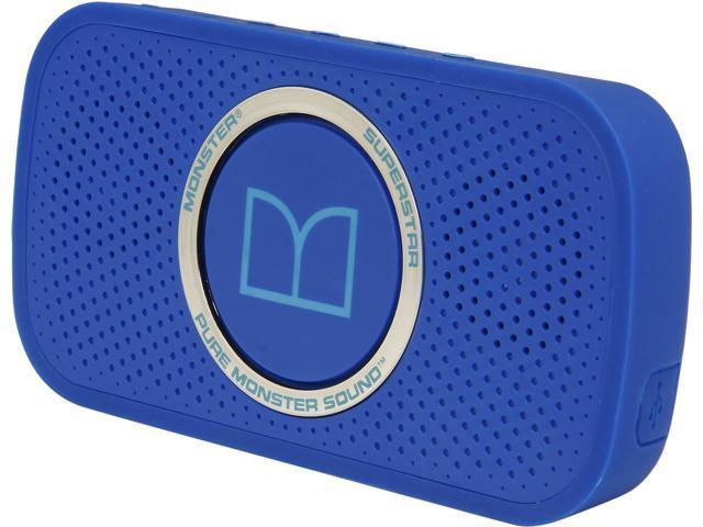 Monster Cable SuperStar HD Bluetooth Speaker-Blue