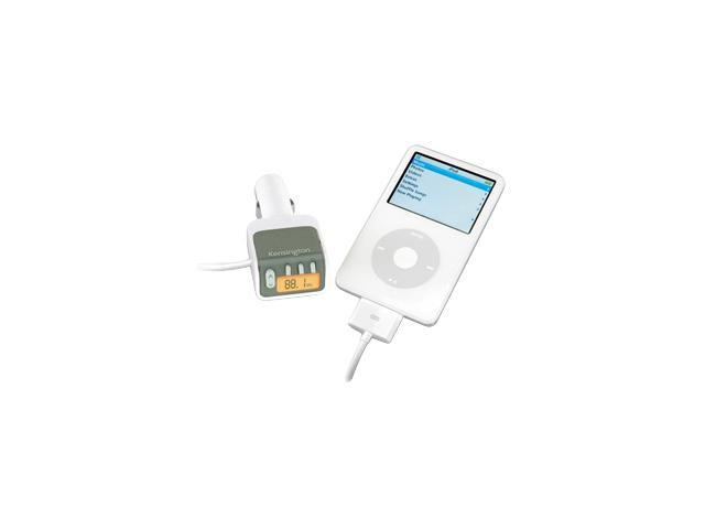 Kensington Digital FM Transmitter/Auto Charger for iPod Model 33185