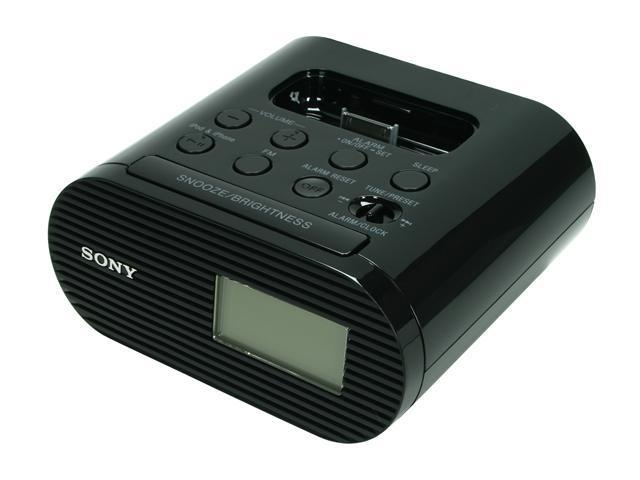 SONY iPod Dock/Clock ICF-C05iPBLK