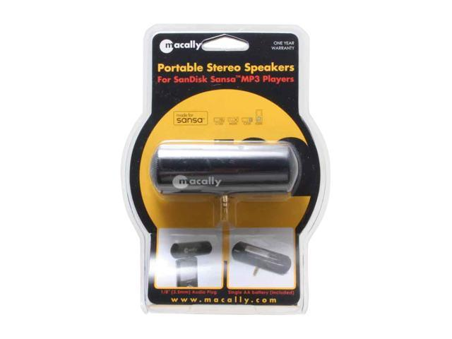 Macally SN-A111 Portable Stereo Speakers for SanDisk Sansa MP3 Players