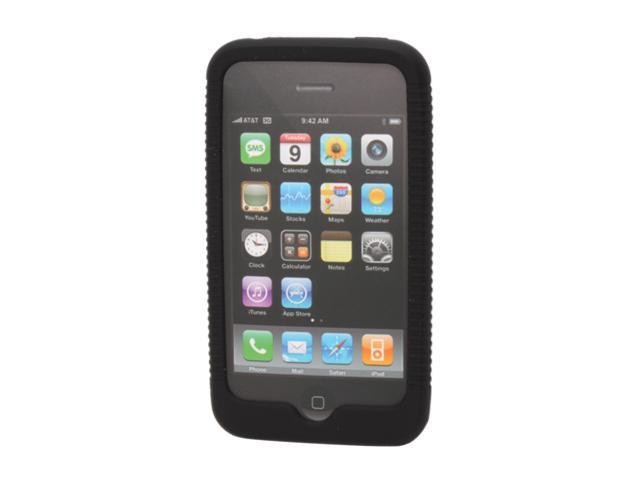 macally Black Protective Silicon Case for iPhone 3G (mSuitP)