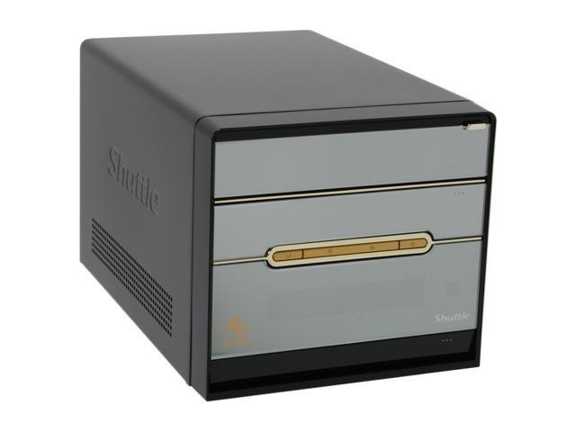 Shuttle SG33G5M-Deluxe Intel Core 2 Quad / Core 2 Duo / Celeron 400 Intel G33 Intel GMA 3100 1 x HDMI XPC Barebone with HDMI ...