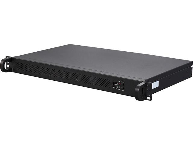 Jetway HBJC150F9N-2930BE Black 1U Rackmount Barebone with 5 LAN Installed