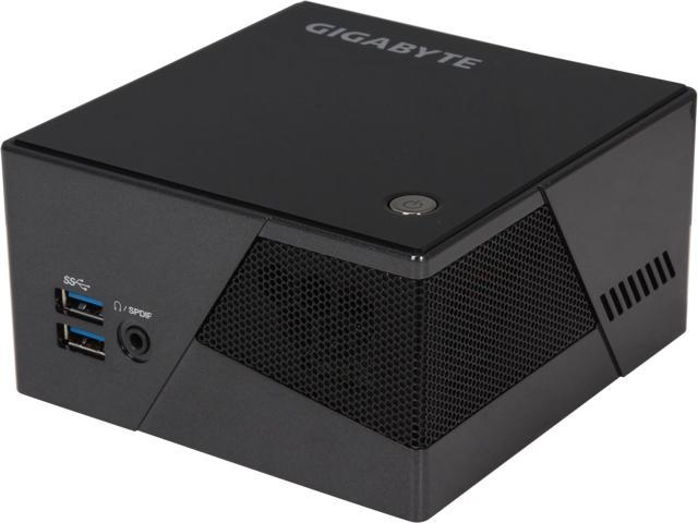 GIGABYTE GB-BXi7-4770R Black Mini-PC Barebone