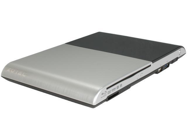 Zotac ZBOX-AD03BR-PLUS-U AMD E-350 APU 1.6 GHz Dual Core w/ Blu-ray All-in-One Mini-PC