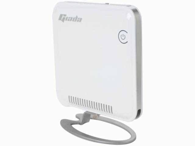 Giada i30-W3131 Intel Atom D425 CPU Intel NM10 eSATA WiFi HDMI+VGA IR Remote w/ 1GB RAM, 320G HD Ultra Mini PC